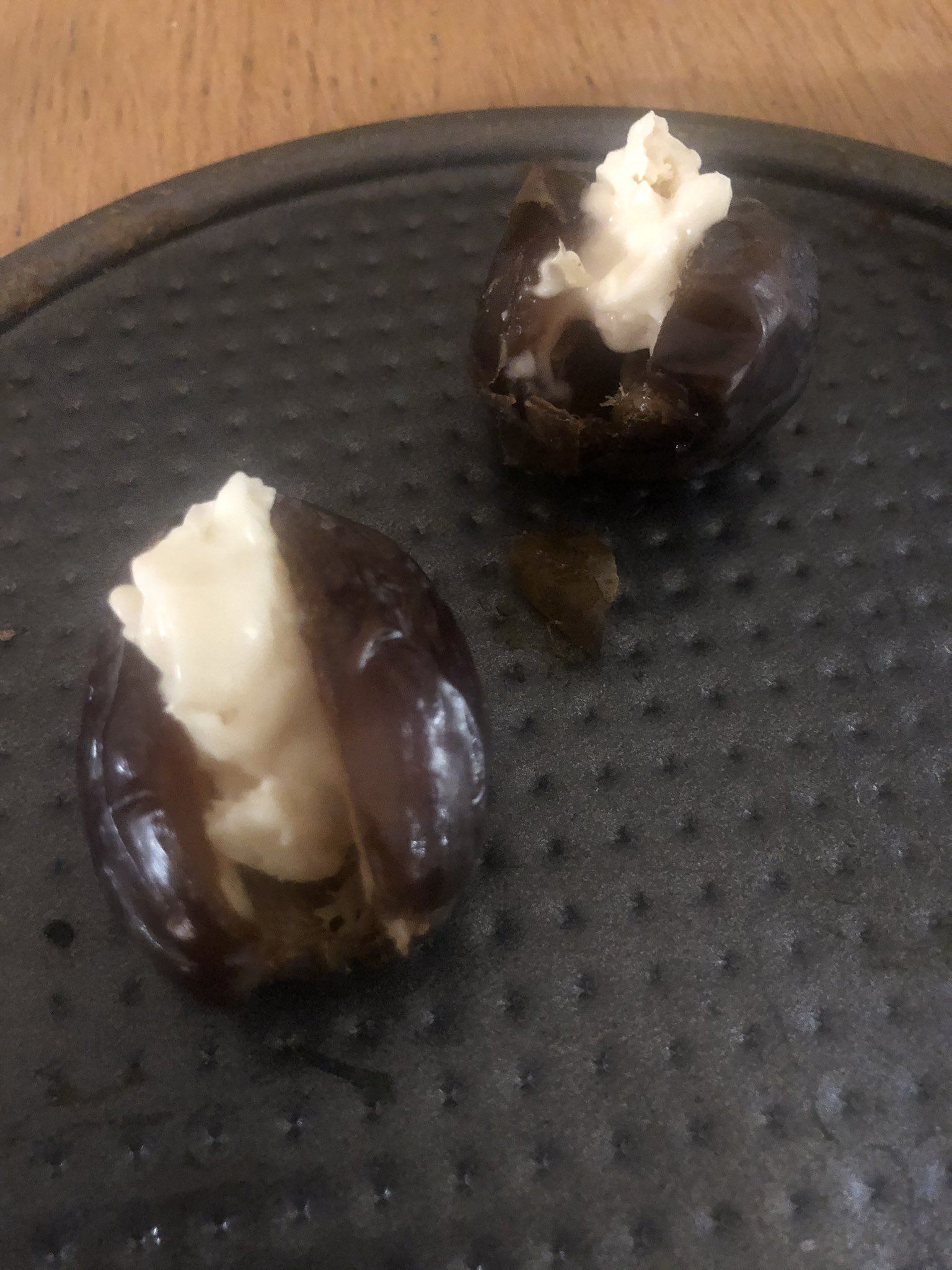 Richard Coles On Twitter Bon Bon Medjool Dates Stuffed With Blue Cheese If These Haven T Conquered The Nation By Christmas I Ll Eat My Chasuble Https T Co Iwuvadmdjt