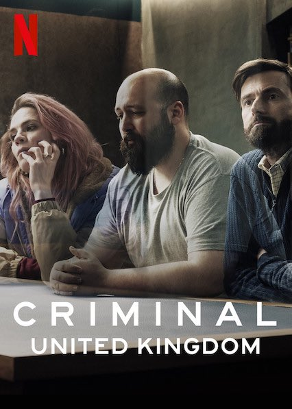 Criminal UK on Netflix....  Cannot believe they only have 4 episodes each series! One of the best series on Netflix.  https://t.co/GetpXGy88X https://t.co/lshk6EHyN2