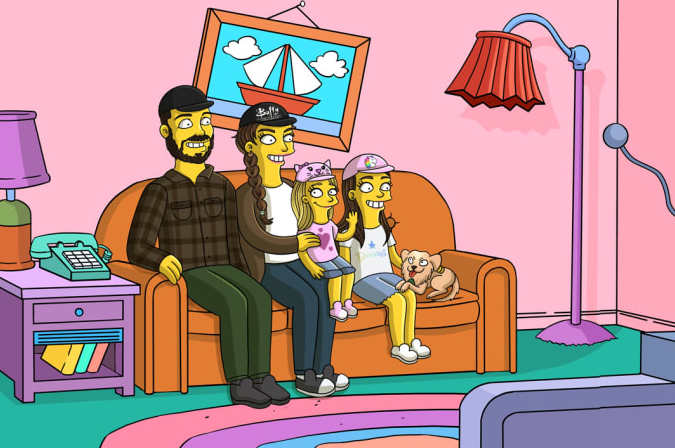 Join the Yellow family!💛  Send me your pictures here: https://t.co/Huuh5Zn20I  #simpsons #portrait https://t.co/ZgF7lxEo27