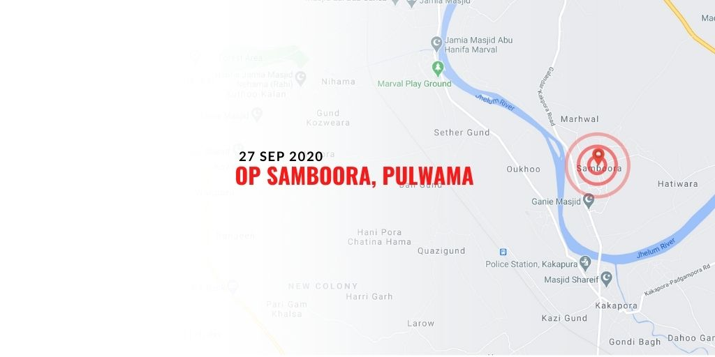 Op #Samboora, #Awantipura #Pulwama joint operation was launched yesterday afternoon based on @JmuKmrPolice inputs. Two #terrorists eliminated.  Joint search #operation was in progress by #police & #crpf .  #Kashmir @crpfindia @adgpi @crpf_srinagar @JmuKmrPolice @NorthernComd_IA https://t.co/hdBR29b725