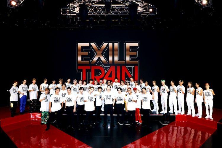 【記事】「EXILE TRAIN」にNAOTO、小林直己、岩田剛典がサプライズ出演TAKAHIRO、EXILE THE SECOND、THE RAMPAGE、FANTASTICS、BALLISTIK BOYZ が出演し、EXILEのさまざまな時代の楽曲をパフォーマンスした。★セットリストあり