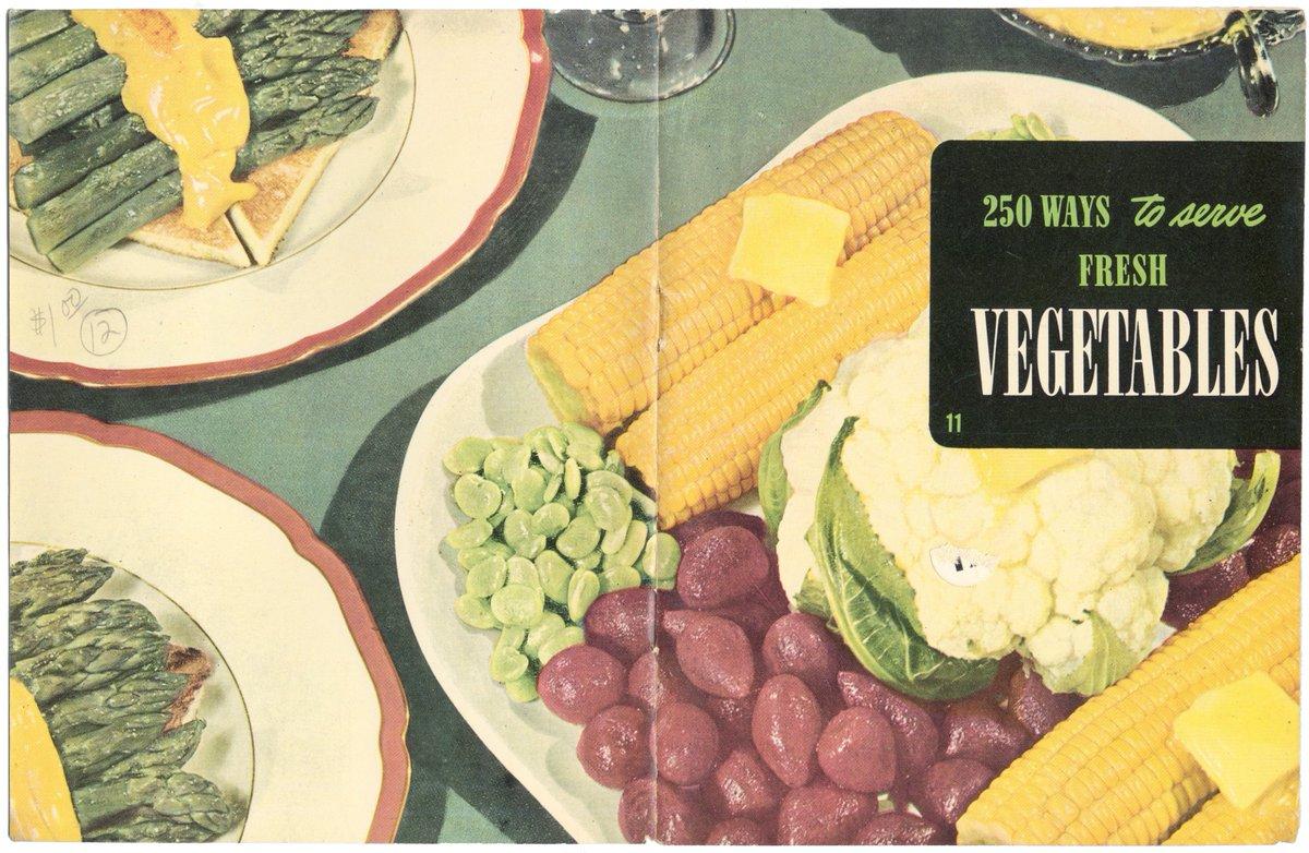 ASIN:B005BTOTI4 '250 Ways to Serve Fresh Vegetables', for 10.99 via @amazon https://t.co/I7MXxAJ4D1 #Vegetables #Vegetairan #Vegan #Recipes #Cookbook #BlueMarbleBounty https://t.co/sYnbuBiEEh