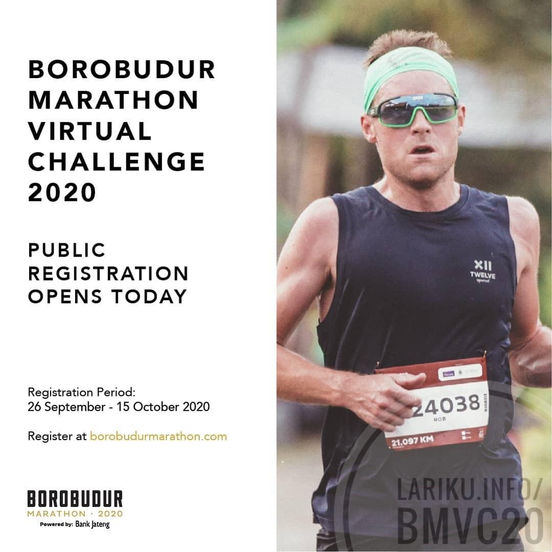 Borobudur Marathon Virtual Challenge • 2020
