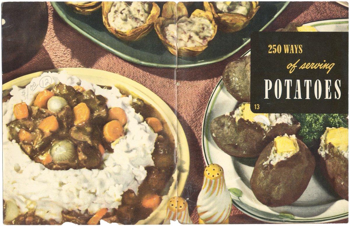ASIN: '250 WAYS OF SERVING POTATOES', via @amazon https://t.co/cDuotdJViG #Potato #Recipes #Vintage #Cookbook #BlueMarbleBounty https://t.co/fNIDzG4FtZ