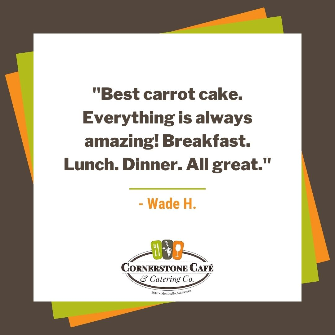#Thanks for the #5StarReview, Wade! 😍 We make all of our #food with care, so this is great to hear! https://t.co/5uuhq9fGI0 https://t.co/8VDo4xz76G