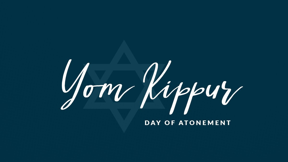 As Yom Kippur begins, I want to wish those observing a reflective, peaceful, and meaningful holiday. https://t.co/Quyy1JZ6bc