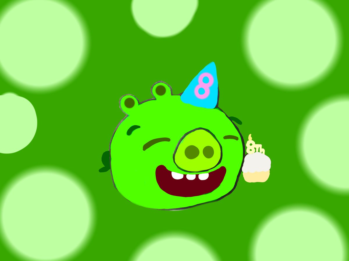 Happy 8th anniversary bad piggies #angrybirds #angrybirds10 #badpiggies #bringtheanger #8years #8thanniversary @Rovio @AngryBirds https://t.co/HERoBDzhko