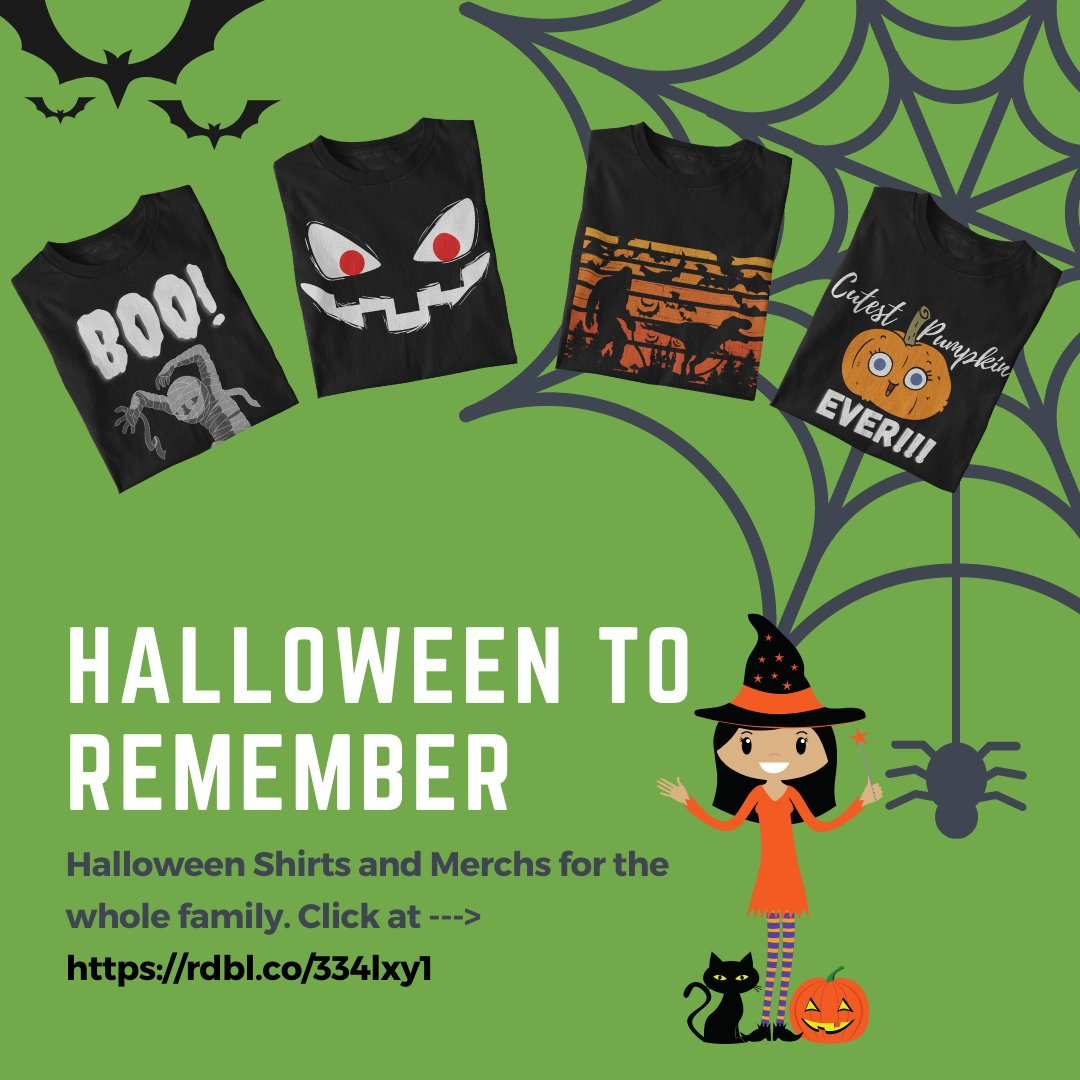 👻👻🎃A great #Halloween starts with a great #gear. Visit for a great selection of shirts 👕🎽and merchs for the entire family this Halloween👹👹🏮  https://t.co/rdgoLqU6Gc  #pumpkin #happyhalloween #spooky #horror #zoombie #2020iscursed #halloween2020 https://t.co/JsYlboRexH