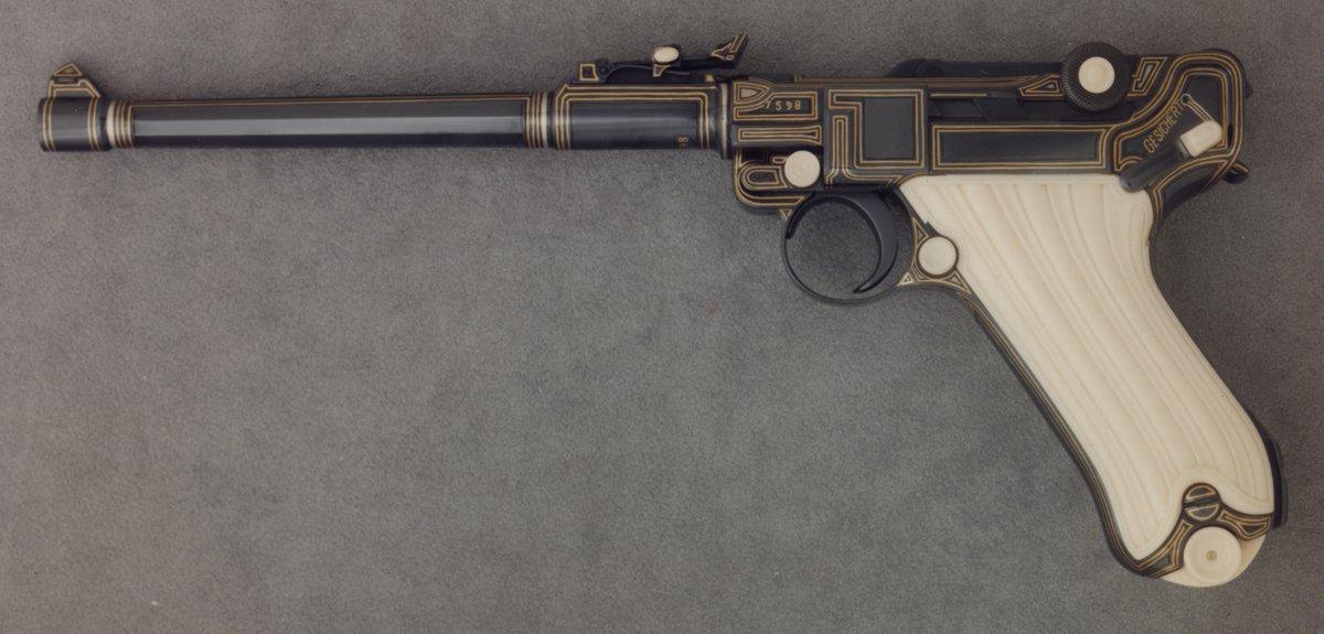 Parabellum Lange Model .08 Semi-Automatic Pistol, Raymond J. Wielgus, 1976 https://t.co/tpYJYlFHZY #armsarmor #aic https://t.co/8UfBjuB8L5
