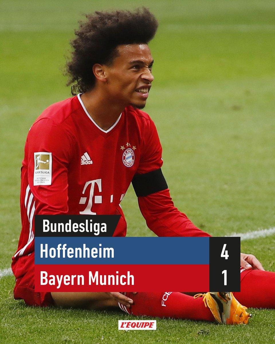 La grosse surprise du week-end restera cette gifle prise par le Bayern. #football #Bundesliga #BayernMunich #PartaSports https://t.co/IZ7cEKpulu