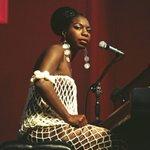 Image for the Tweet beginning: Singer and songwriter Nina Simone