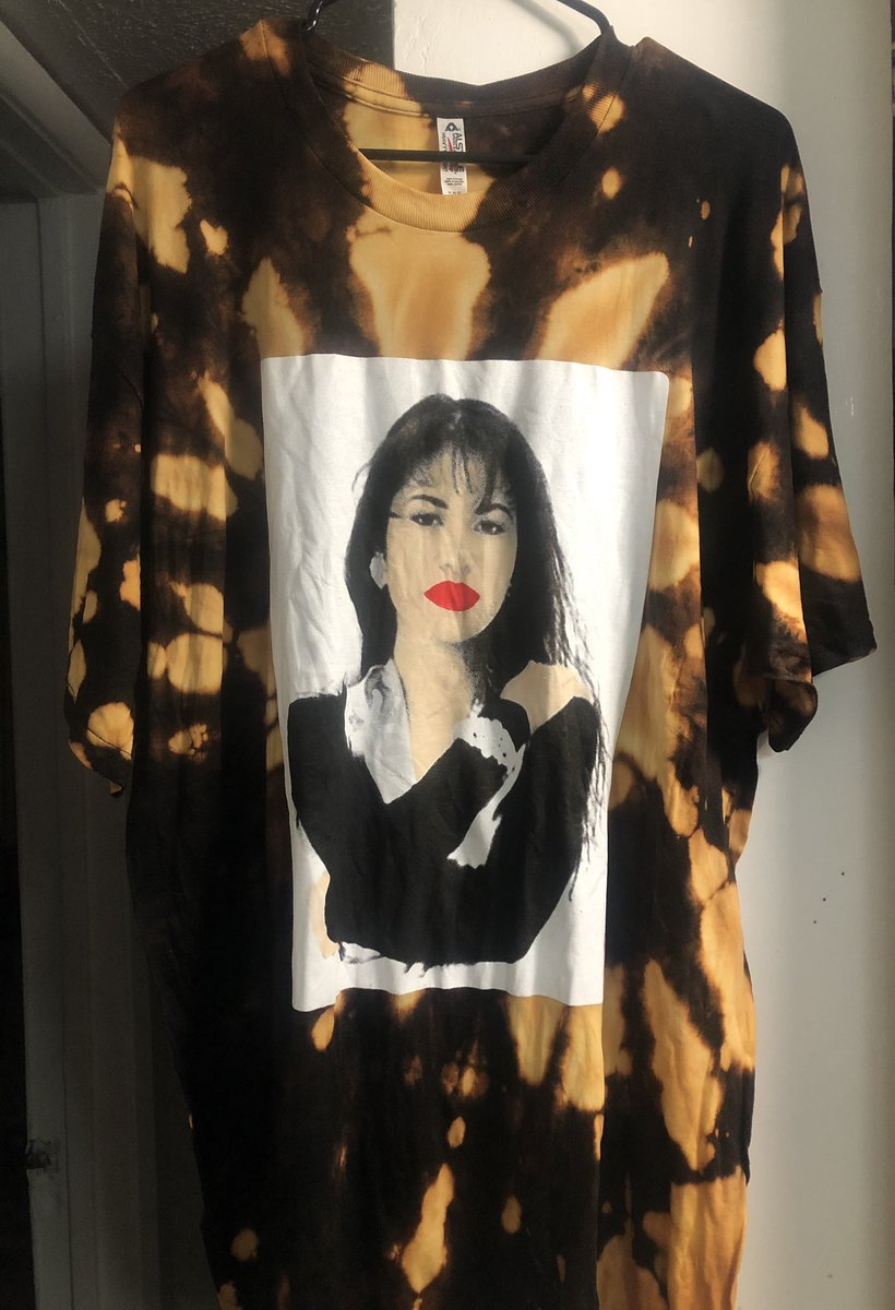 Come get your custom shirts done! Check me out! #tees #chillthebesttees #dallas #bleachdye #oakcliff #selena #music #art #smoke #chill #love https://t.co/jDu7DvazPH