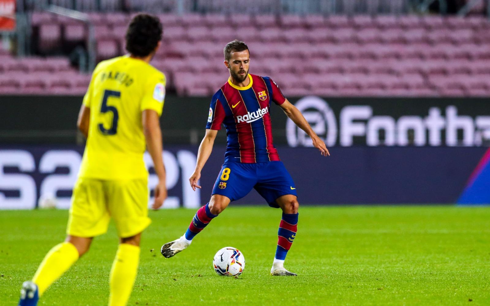 Pjanic debut against Villarreal