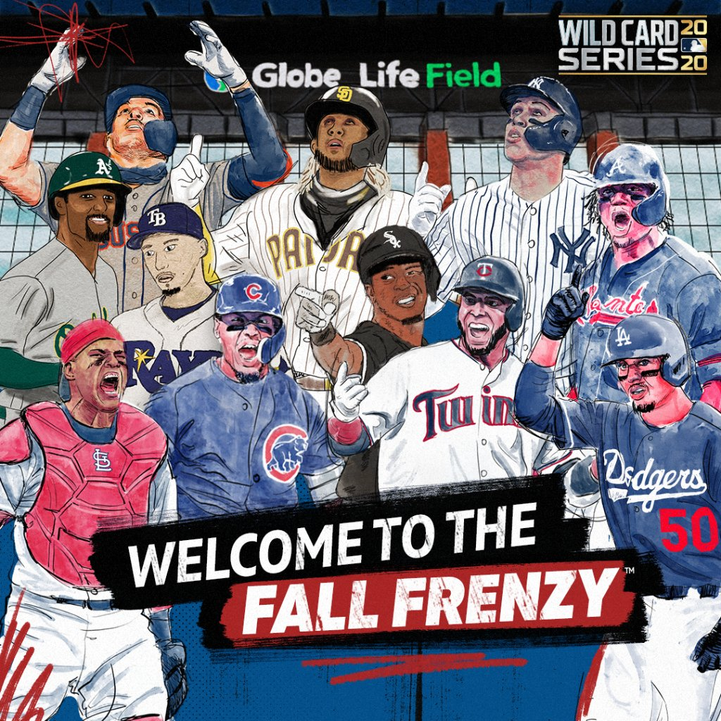 The MLB postseason field is officially set 🍿  Unleash the Fall Frenzy 🔥 https://t.co/uFIdOLbPrl