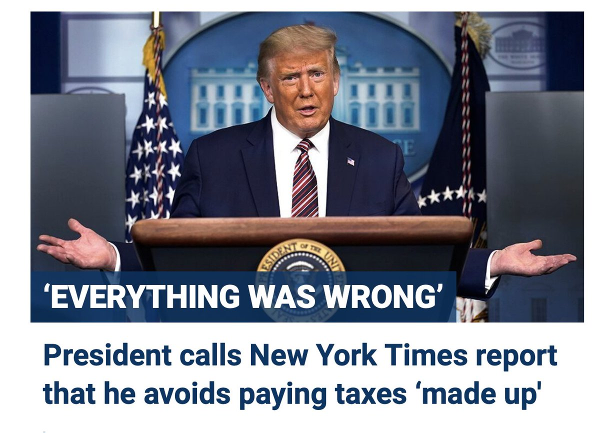 """This is what Fox's supposed """"straight news"""" division does with pretty much every story that portrays Trump in a negative light: They lede with his denial. https://t.co/BKQsZQvcnS"""