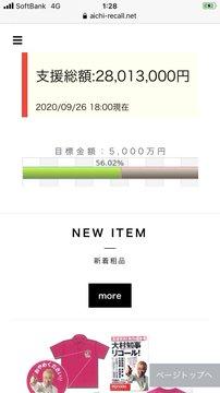 @utu_makemai12 @akira_mori0120 @katsuyatakasu 支援総額:28013000円 2020/09/26 18:00現在 支援総額:28361000円 2020/09/27 18:00現在 +348000円 1日348000円入るのか...