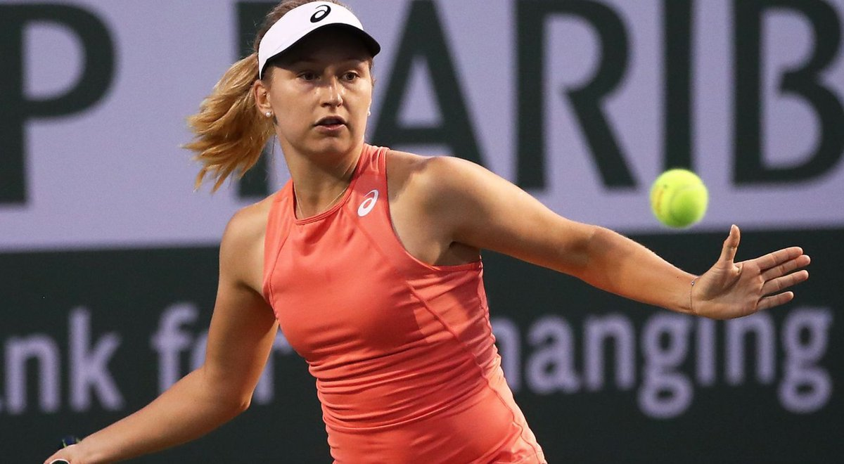 Well done, Dasha! 👏  She defeated Ukrainian 24th seed Dayana Yastremska 6-4 6-3 overnight.   ✔️ Her first grand slam since US Open 2019  ✔️ First second round since 2018 ✔️ Nearly halved world ranking  ✔️ Genie Bouchard next   #RolandGarros https://t.co/jtCO5ei6WC