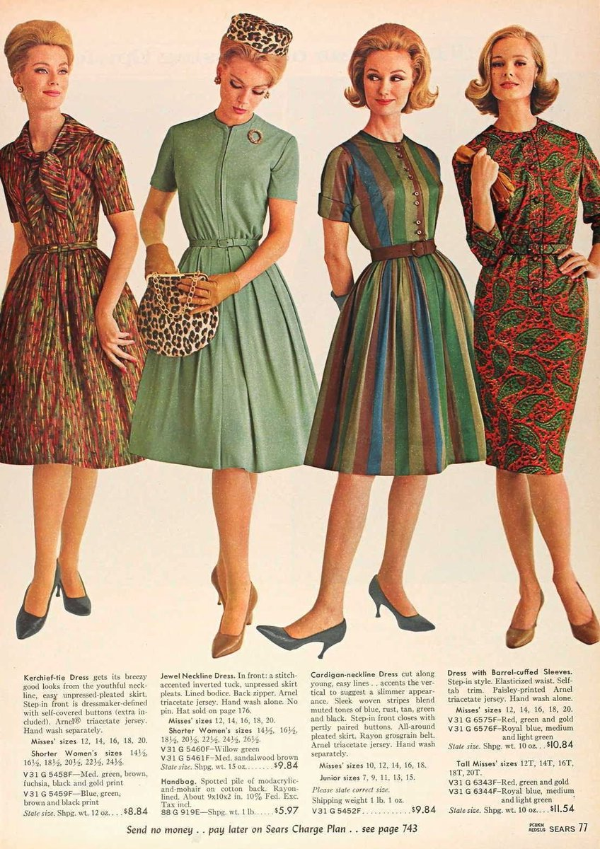 #Fashion #1960s https://t.co/POshGpcxRY