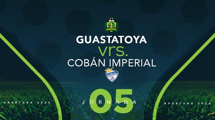 Guasatatoya rescata un empate ante el líder Cobán Imperial #Jornada5 #Apertura2020 #LaLigaEnGuatefutbol #LigaNacional - https://t.co/AzBqj0uZJV https://t.co/oI8rH4zmfK