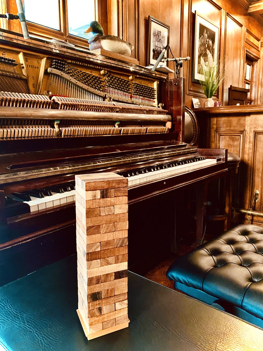I take themed piano requests and play Jenga live on YouTube, Mon-Fri of each week - this week is '90s Week! Subscribe and ring the bell to get notified when I'm live: https://t.co/T0Gyrd0f2A https://t.co/Qlio7zgypL