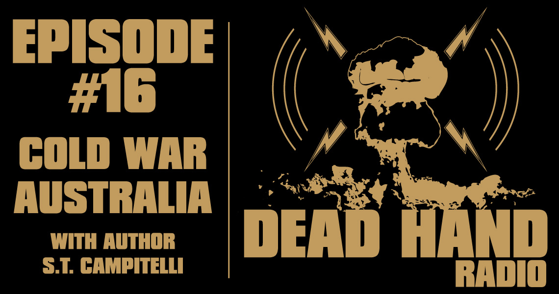 Currently editing the next episode of DEAD HAND RADIO. My guest @stcampitelli and I talk about the Cold War, Australia and a ton of other fascinating topics.   Should be ready to go some time Monday Sept 28.  #podcast #ColdWar #Australia #MadMax #Rush #Music #Movies #Books https://t.co/c6vxgmh3PI