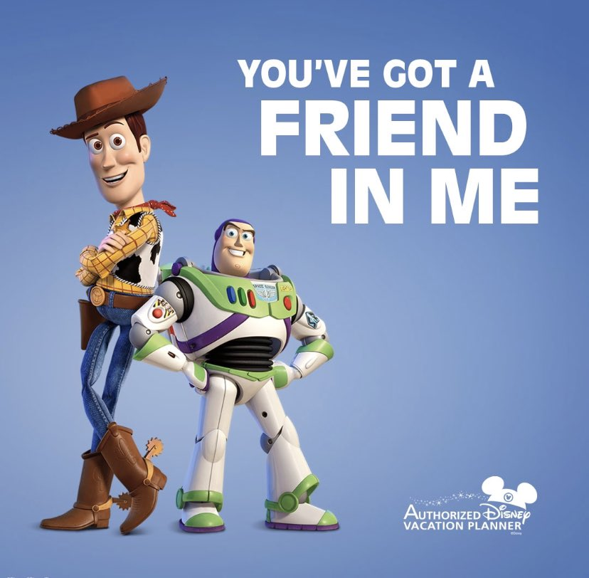 ✨TO INFINITY & BEYOND✨ ✨ Having an Authorized Disney Vacation Planner on your side makes the best team!  ✨ Contact@crazyimaginationtravel.com  ✨ #CIT #crazyimaginationtravel #disney #toystory #woody #buzzlightyear #youvegotafriendinme #toinfinityandbeyond https://t.co/yaNeebl3gv