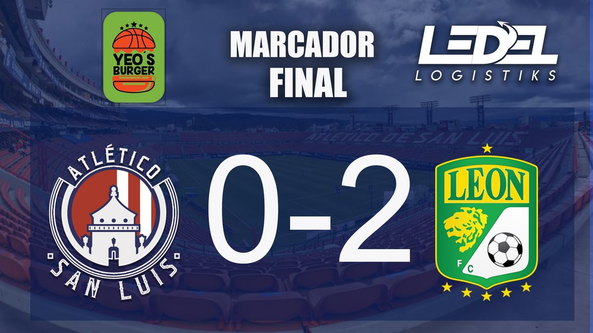 Ledel Logistiks y Yeo's Burger te presentan el marcador final del encuentro #ADSL 0-2 #León https://t.co/LDUu1v94kR