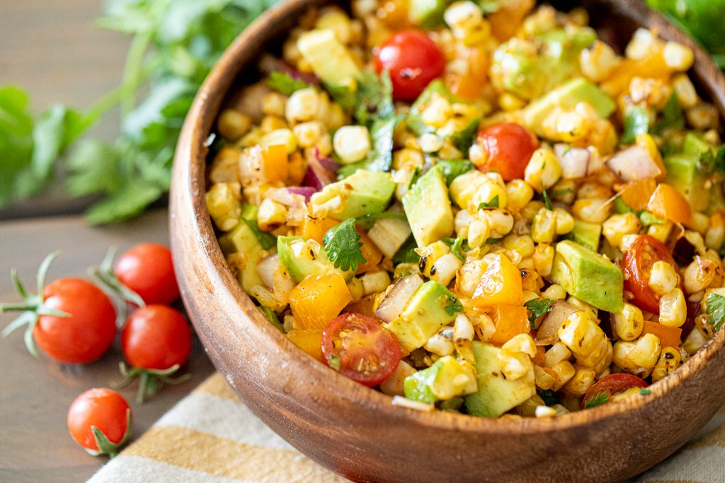This Tabasco-infused lime vinaigrette enhanced grilled corn salad is a wonderful blend of flavors and textures and packs a real flavor punch: https://t.co/K5x3R9oy1i @heygrill_hey #corn #salad https://t.co/IExPLozN55