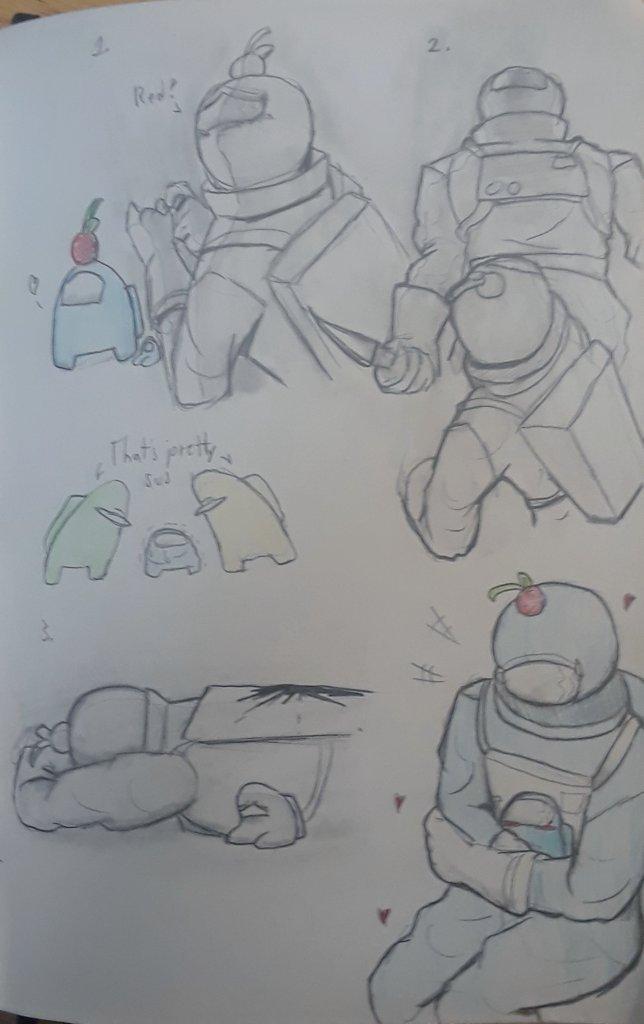 Little doodles of cherry boi 👉👈  #AmongUs #amongusfanart #amongusart #sketches #AmongUsnsfw #fanart #Cherry https://t.co/iq93uGadT1