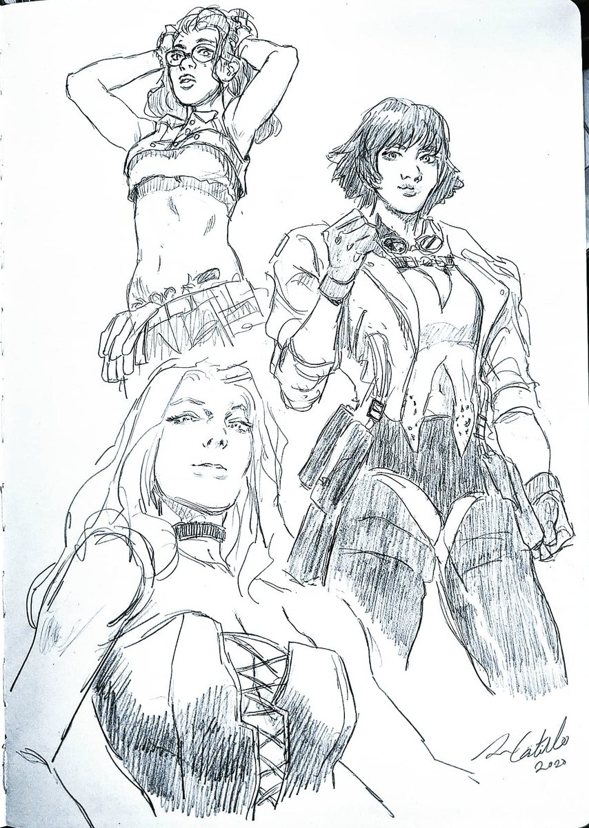 sketched the ladies of #DevilMayCry5SpecialEdition DMCV is a game I love and don't make enough fan art for. The Vergill DLC in Special Edition is gonna be so sick! #fanart #capcom #Kenyu05 https://t.co/7RlgTVm3Ez
