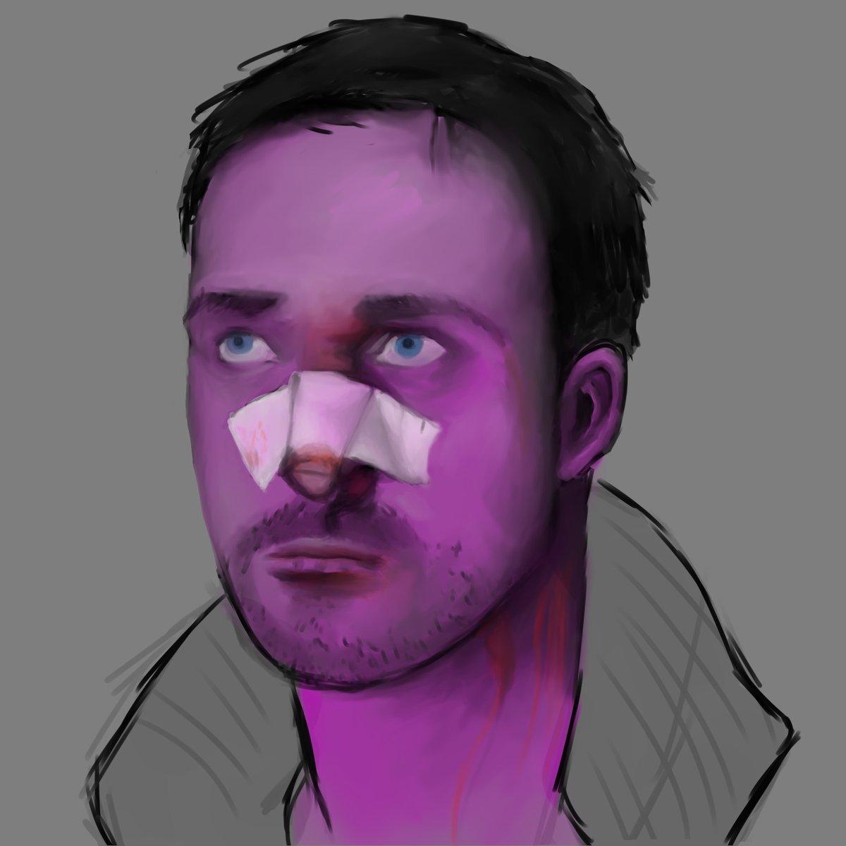 crappy 2024 painting  #painting #BladeRunner2049 #Fanart #art #cyberpunk https://t.co/5VXf9EfWhN