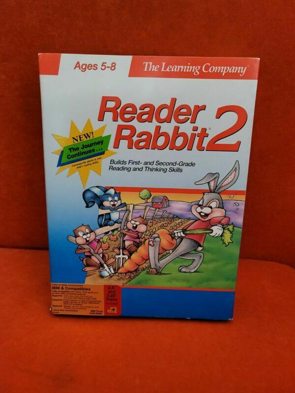 Reader Rabbit 2 (V1.01) 5.25 Floppy Disk 1991 #Tandy/IBM PC/DOS/Windows - Boxed #retrogaming #ebay 🔥🔗https://t.co/Qb3UOY9QFP https://t.co/ZNPx0sVWjl