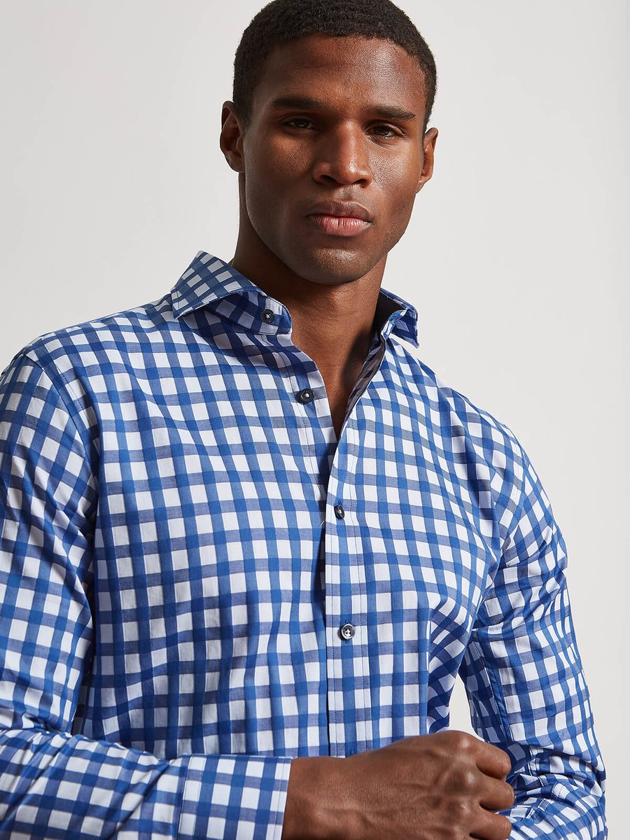 Shaped Fit Long Sleeve Small Check Cotton Shirt Bugatchi  _ https://t.co/2ZGBl6xnaW  _ #itisis #Bugatchi #Shaped #Fit #Long #Sleeve #Small #Check #Cotton #Shirt #sax #nordstrom #dillards #fashion #love #Italy #essentials #black #African #Italian #billionaire #greatness  _&)(*... https://t.co/NHUegCdrbI