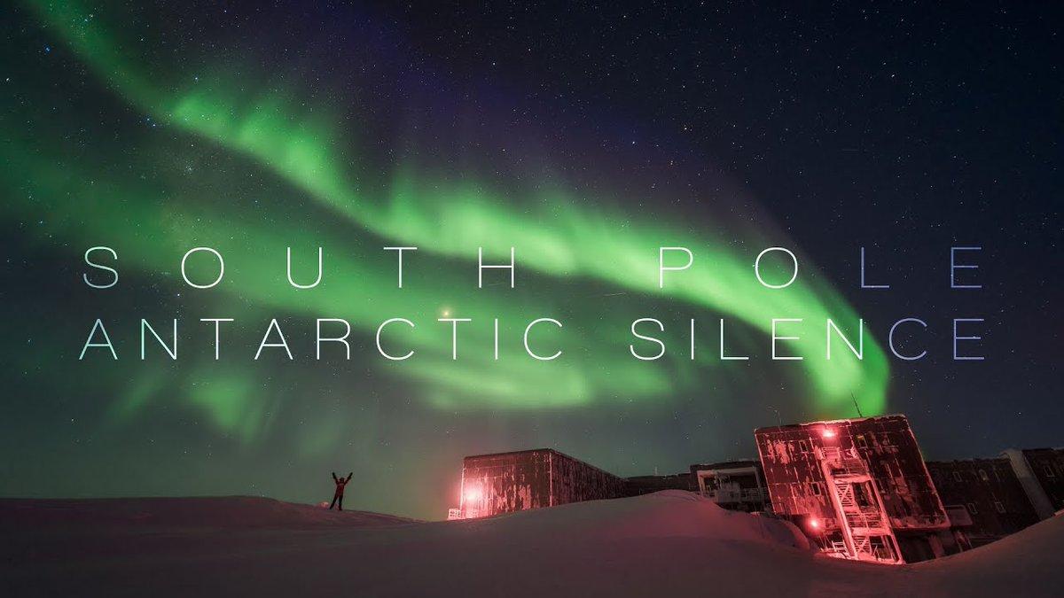 Mergulhe nas luzes da #Aurora Polar no Polo Sul. Obra registrada por Raffaela Busse, operadora de experimentos astrofísicos do Observatório de Neutrinos  @uw_icecube, produzido e editado por @martinheck com a #música de @M_Frankenberger  #fotografia   >https://t.co/71YuT7398g https://t.co/aJdLJucalw