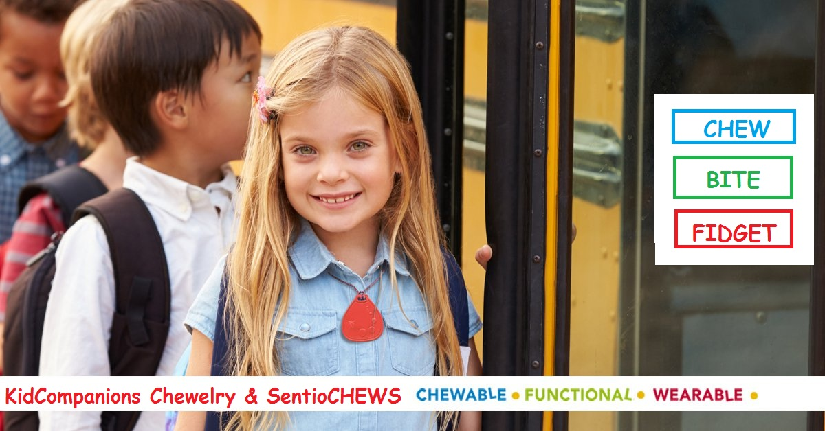 #Sensory issues? Need a #chewy? GET #KidCompanions #Chewelry or Tougher-than-Silicone #SentioCHEWS 🇺🇸 Folks in USA >SAVE 25%  w/ strong US Dollar 🇺🇸 🌈Fall Savings🌈 Buy more $ave MORE! 🇨🇦 #MadeInCanada, sourced in North America 👍🏽 BPA, Metal & Latex Free! https://t.co/VsXOR5Q6ht https://t.co/MbzqotUh6E