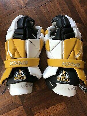 "Check out #Epoch Integra LE #Lacrosse Gloves Yellow / Black & White Size 13"" L #Copperheads https://t.co/K44NK1hc8g via @eBay  #onsale #forsale #ebay #lax $69.99 https://t.co/f71H3Nl68F"