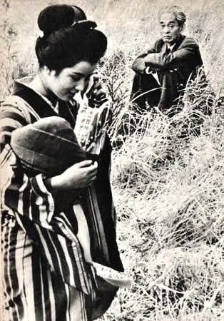 吉永小百合を見つめる川端康成とブリジット・バルドーを見つめるパブロ・ピカソ。