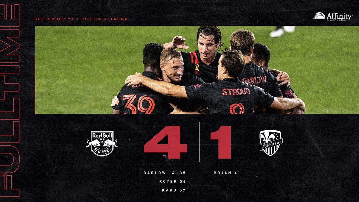 Another four goals, another three points!   Presented by @AffinityFCU https://t.co/882B4rWQOx