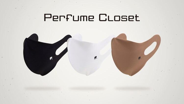 Perfume、衣装裏地の特殊素材を使用したオリジナルマスク発売 #prfm