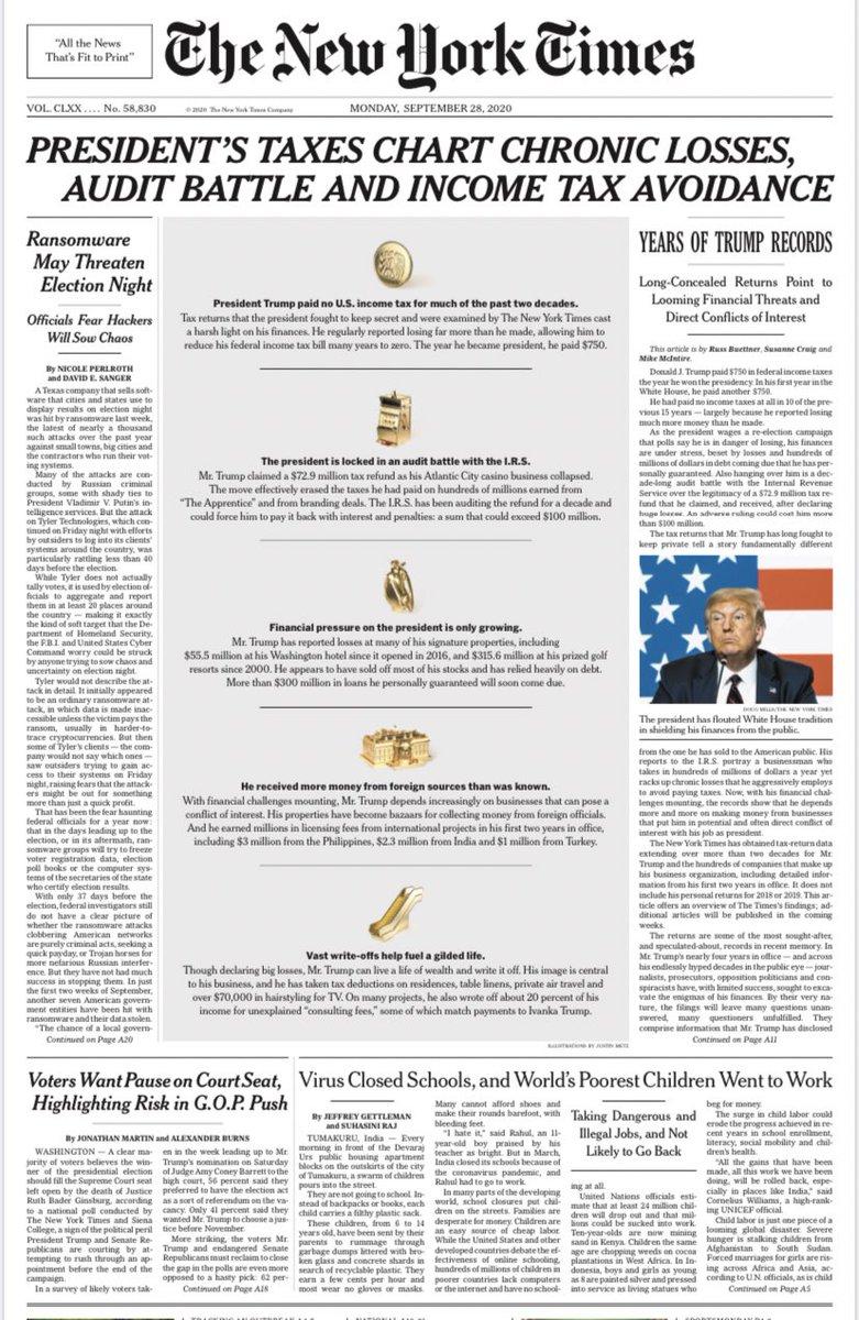 Monday's @nytimes front page: https://t.co/JrkCWoHgSU