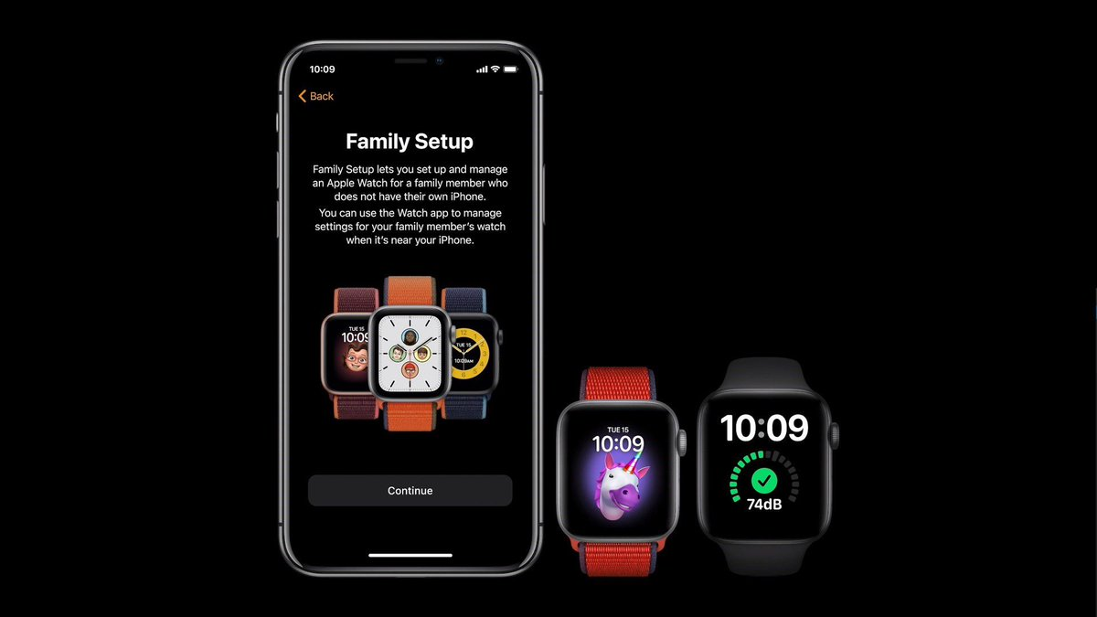 Family Setup will let you manage multiple Apple Watches from a single iPhone