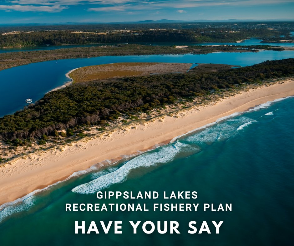 Want to see the Gippsland Lakes return to being a mecca of Victorian rec fishing? We do too!  We're keen to hear your thoughts on our Gippsland Lakes Recreational Fishery Plan 🎣  Learn more at https://t.co/HdE2XDK2rm  #gippslandlakes #fishingmecca #fishingvictoria  📸:EGCMA https://t.co/qp5kUZRXtS