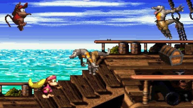 @gameinformer's photo on Donkey Kong Country 2