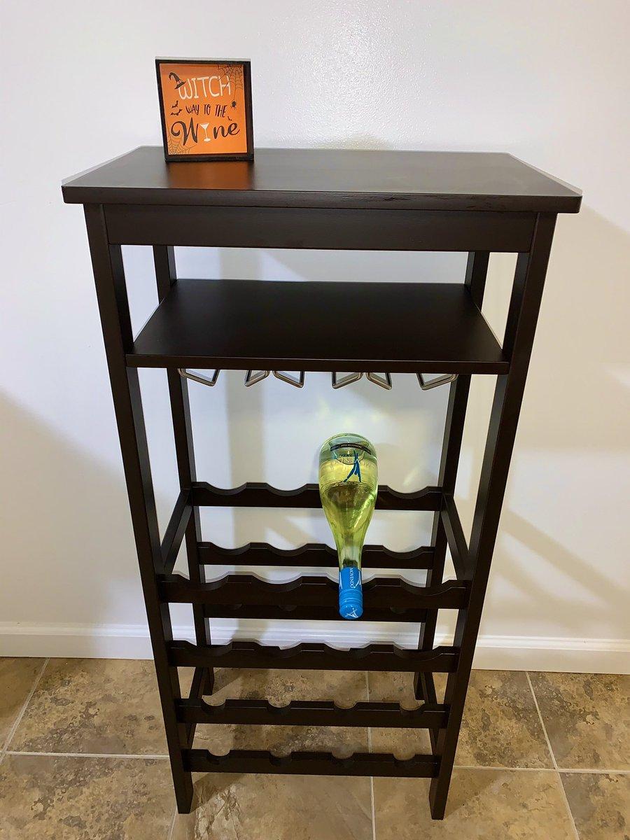 new wine rack i just put together 😋 https://t.co/sAK0DavFUZ