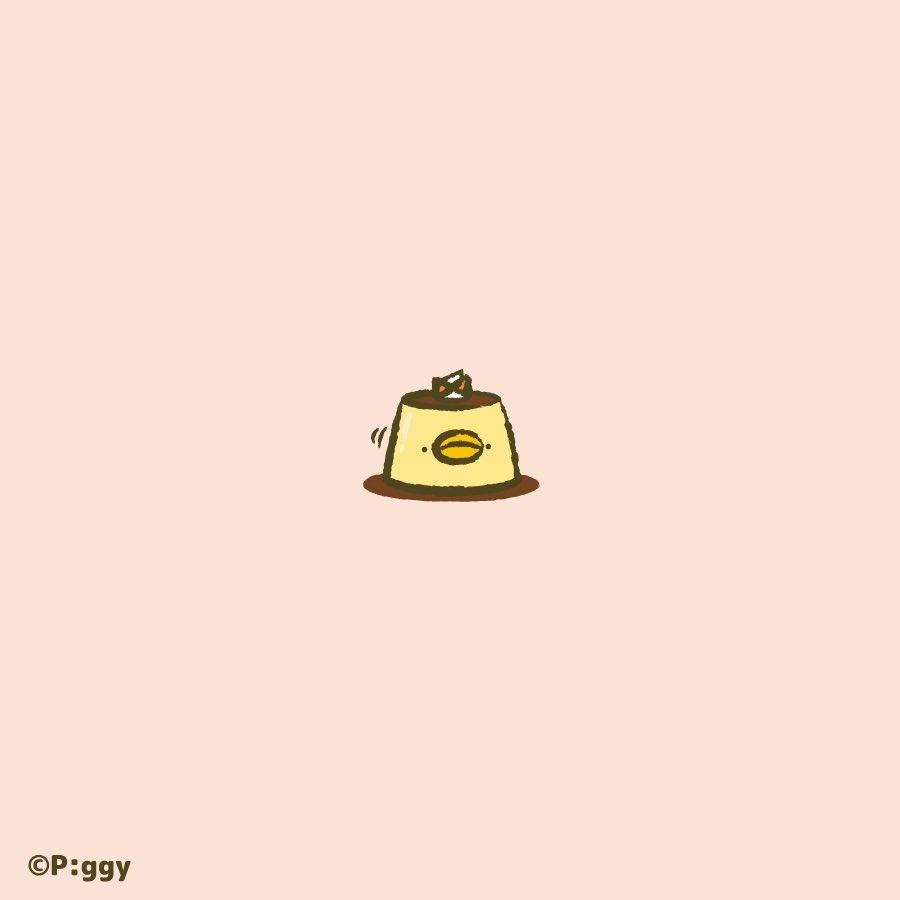 ぷるんぷりんちぴよ🍮  #ピヨピヨちぴよ #イラスト #Illustrations #プリン https://t.co/QXQi83qrNm