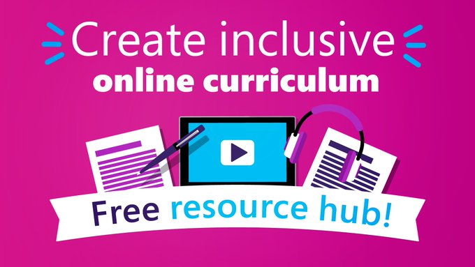This resource collection is your command center for planning inclusive curriculum. Start exploring to find product demos, webinars, and how-to guides for learning and #accessibility tools.   🔗 https://t.co/Dnrw016mJg   #EdTech #MIEExpert https://t.co/1N8cqYZZLU