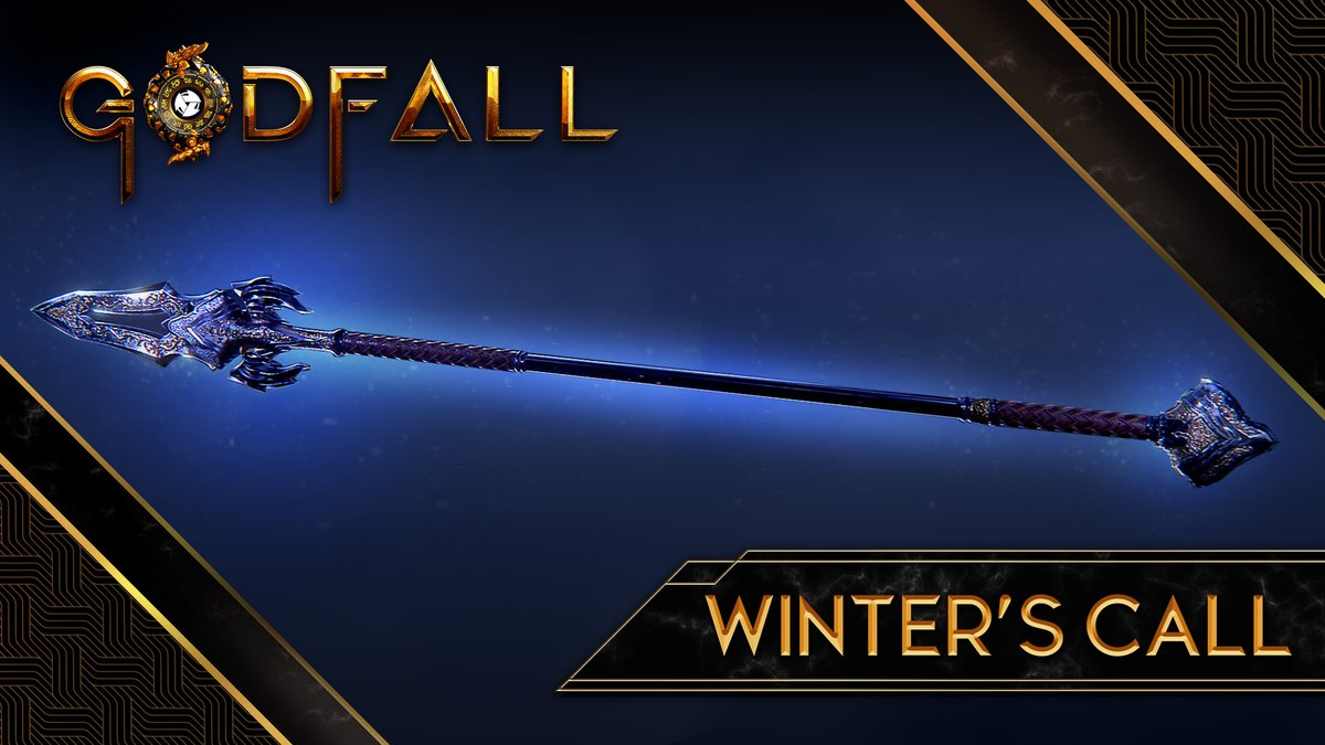 Soaring straight and true, singing through glacial ice. Ascend with Winter's Call in Godfall!