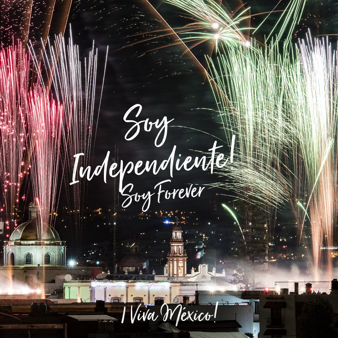 ¡Viva nuestra independencia nacional!  Familia, vamos a disfrutar nuestra independencia y a gozar nuestras fiestas patrias   #vivaméxico #vivaforever #diadelaindependencia https://t.co/fd76riZPe6