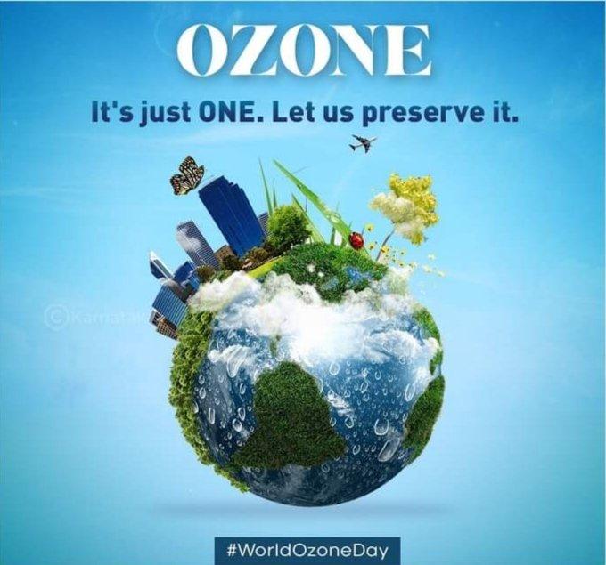 #WorldOzoneDay Photo