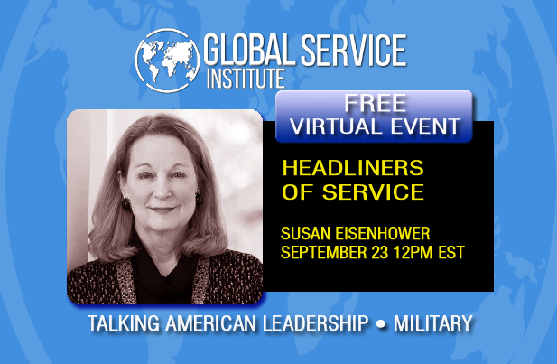 RT & Share: Be sure to join us & send in YOUR questions for this FREE Special Conversation with #POTUS #Eisenhower's granddaughter Susan Eisenhower talking #Military #NationalSecurity #Russia #USA Leadership #MiddleEastPeace #Election2020. REGISTER NOW! https://t.co/tpet1rQgTl https://t.co/z8WMEaOzVi